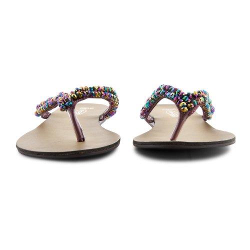 Footwear Sensation - Chanclas para mujer rosa - Dusty Pink