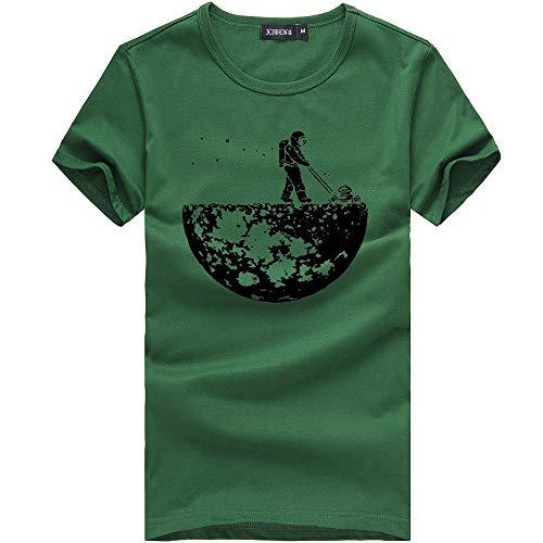 Casual Vêtements Impression Blouses Manadlian Sport Chemise Tops Couple Unisex Vert De shirt T Adult Homme Femme Été vx7wXg1nFq