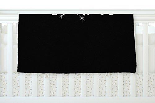 KESS InHouse Suzanne Carter Shine Black White Fleece Baby Blanket 40 x 30 [並行輸入品]   B077YZQQMN