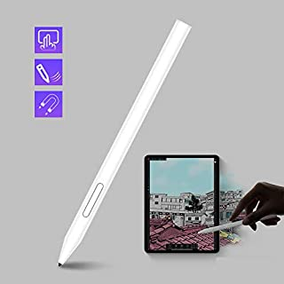Stylus Pen for iPad Active Stylus for iPad Pencil, Palm Rejection (2nd Generation) (White)