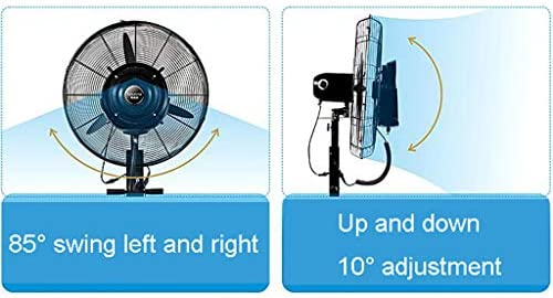 Ventilador nebulizador/humidificador con mando a distancia ...