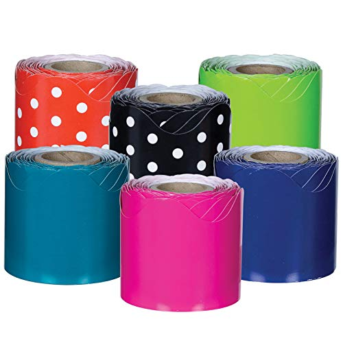 Carson-Dellosa Rolled Borders Set