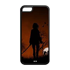 Walking Dead Solid Rubber Customized Cover Case for iPhone 5c 5c-linda322