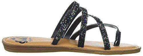 Sandale Plate Fergalicious Femmes Delaney Noir / Multi