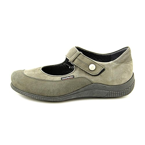 Flats by Perceval Grey Women's Pewter Morna Dark Mobils Mephisto Bucksoft xTOzIPq