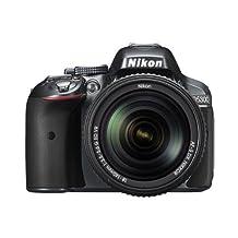 Nikon D5300 24.2 MP CMOS Digital SLR Camera with 18-55mm Zoom Lens - Grey