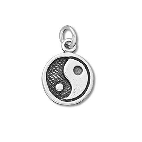 Sterling Silver Yin Yang Charm Item #35551