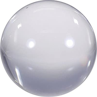 "Magic City Clear Acrylic Contact Juggling Ball - 2.75"" - 70mm: Toys & Games"