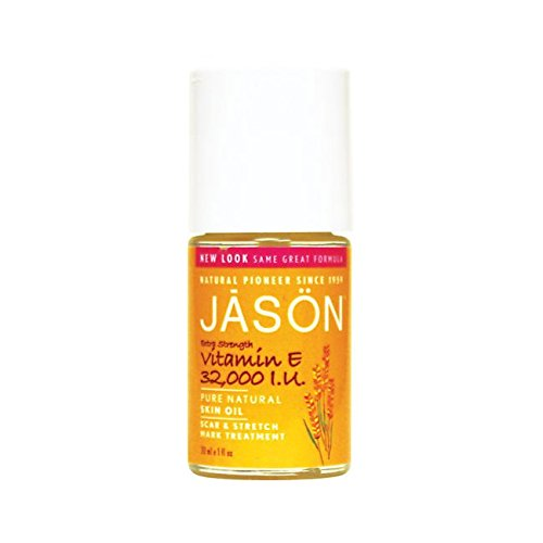 Jason Natural Cosmetics Vitamin E 32,000 IU Extra Strength Skin Oil, Targeted Solution, 1 fl oz