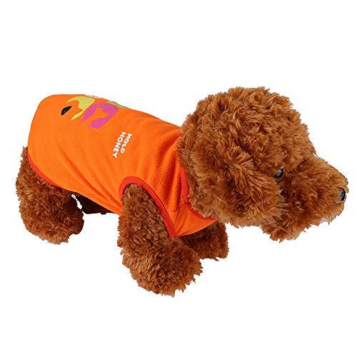 Geetobby Puppy Pet Vest Dog Cat Cartoon Sweatshirt Fashion Puppy Costumes Clothe