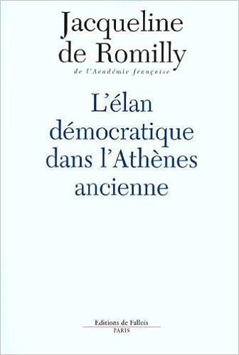 Lire en ligne L'élan démocratique dans l'Athènes ancienne pdf, epub