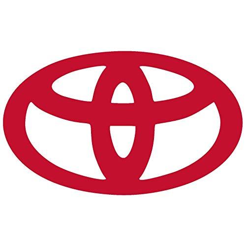 Toyota Logo Vinyl Sticker Decal for Car Bumper Window MacBook Laptop iPhone Macbookpro (4
