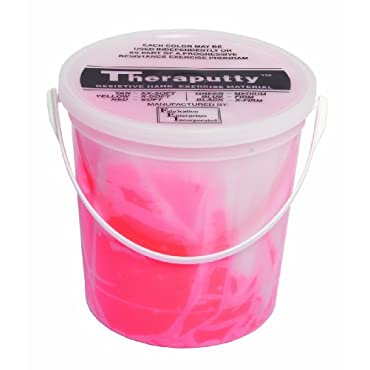 Theraputty Scented, Cherry, Red, Soft, 5 Pound