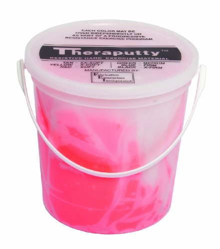 Theraputty Scented, Cherry, Red, Soft, 5 Pound by Cando