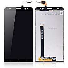 Greleaves LCD Digitizer Assembly - Touch Screen Glass Panel+LCD Display Panel Replacement with Tools for Asus Zenfone 2 ZE551ML (Black)