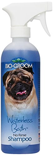 - Bio-Groom Waterless Cats and Dog Bath Shampoo, 16-Ounce