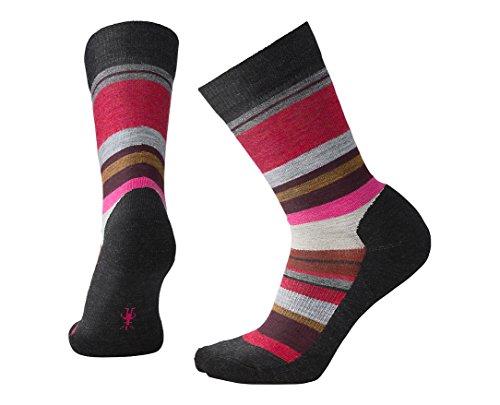 SmartWool Women's Saturnsphere Socks, Charcoal Heather, Large