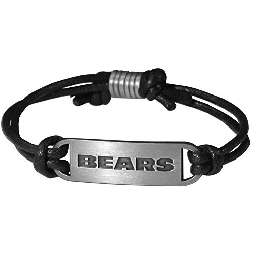 Siskiyou NFL Chicago Bears Cord Bracelets, Adjustable