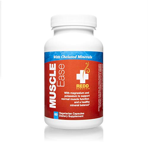 Redd Remedies, Muscle Ease, Relaxing Support with Magnesium and Herbs, 60 Capsules