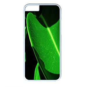 Sunset Personalized Design PC White Case for Iphone 6 Green
