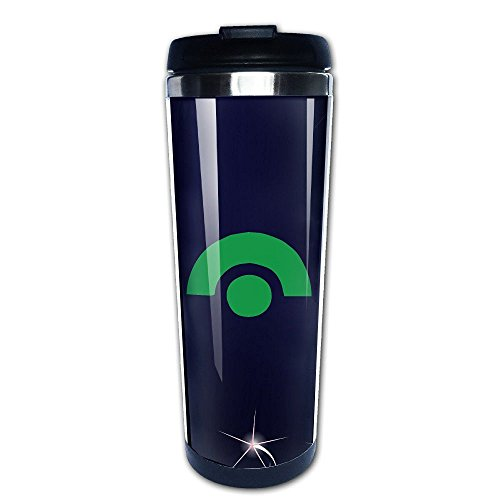 Beaufiy Ash Ketchum Logo Stainless Steel Travel Tumbler Coffee Mug Black (Uk Starbucks Sets Gift)