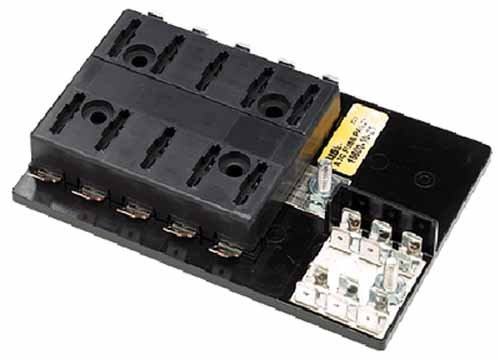 Seachoice ATO / ATC Fuse Block 10 Gang Ground Buss Bar