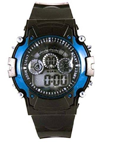 Multi Color Digital Ligth Watch for Children Blue