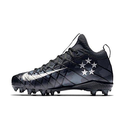 Nike Men's Alpha Field General Elite Camo Football Cleat Black/Grey/Silver gBfvY7JLm