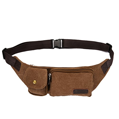 Fanny Pack Ideal For Daily Use,Travel,Walking,Cycling,Waist Bag Multifunction Unisex.