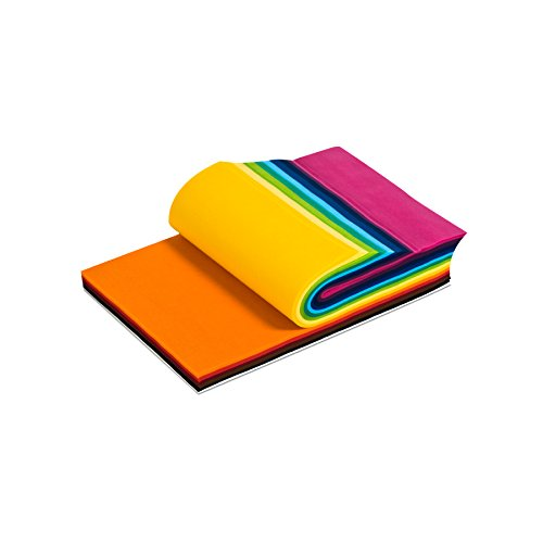Smart-Fab Disposable Craft Fabric 9 x 12 Inch Sheets, Assorted Colors, Pack of 270 Sheets: Perfect for Schools, Classrooms, Crafts, Art, Bulletin Boards, Sew, Draw, Paint it, Unique Non Woven Material (SFB238091227099) Smart Fab Disposable Fabric