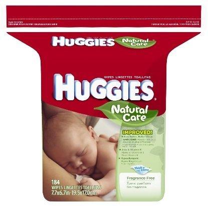 Huggies Baby Wipes Ingredients (Huggies Natural Care Baby Wipes, 1104 Count, Fragrance)
