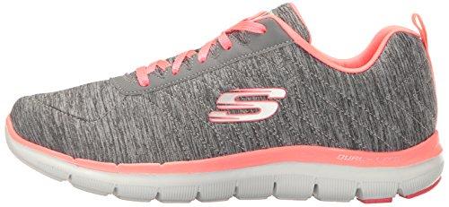 Sport 2 De Chaussures Pour 0 Gris Corail Femme Skechers Appeal gris Flex Multisport wqUXRq5E