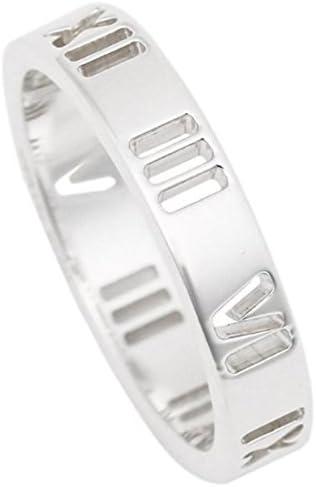 リング アクセサリー TIFFANY&Co. アトラス ナローリング 指輪 シルバー [並行輸入品] US5.5(約10号)