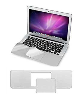 Trackpad Palm Rest Cover Protector Sticker for MacBook Retina 12 inch Silver