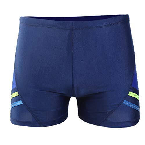 Summer Shorts Plus Size Simayixx Men Basic Swimming Trunk Surf Shorts Swimsuits Boxer Briefs Big and Tall Outdoor Pants Blue by Simayixx Blouse (Image #1)