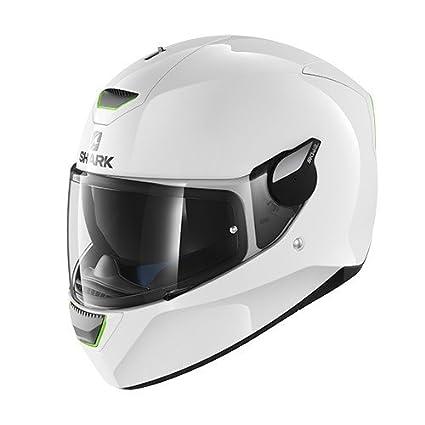 color blanco talla L Shark casco Moto ridill Blank WHU