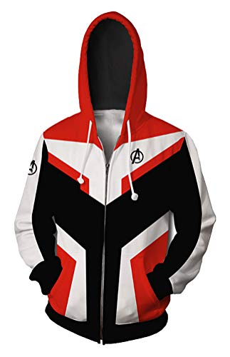 SunnTT Halloween Quantum Realm Hoodies Jacket Cosplay Costumes (C, XS) ()