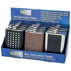 Maxam KTFLSKEX 12 Piece Counter Top Flask ()