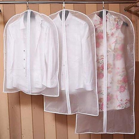 Clear 1PC 60*80cm plastica Sukisuki clothes Covers Garment antipolvere borse bagagli Protector bag