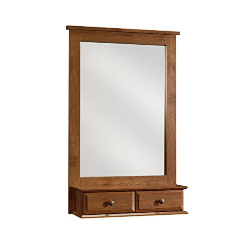Sauder 410845 Mirror, Oiled Oak Finish for sale  Delivered anywhere in USA