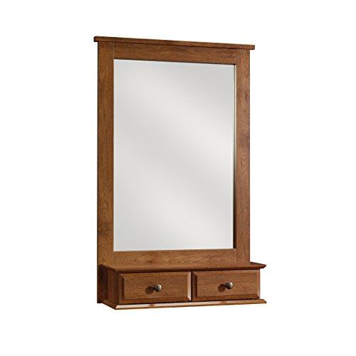Sauder 410845 Mirror, Oiled Oak Finish ()