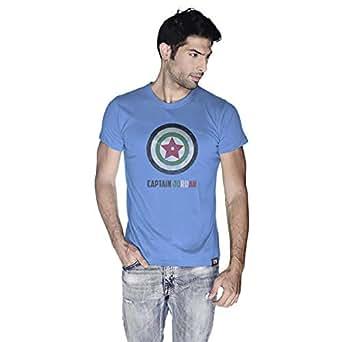 Creo Captain Jordan T-Shirt For Men - M, Blue