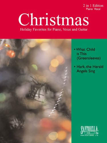 Greensleeves Piano Music - What Child Is This (Greensleeves) & Hark, The Herald Angles Sing