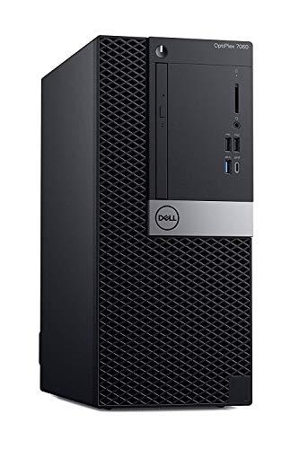 Optiplex 7060 Computer Tower Desktop, Intel Core i7-8700 3.2GHz, 64GB RAM, 2TB SSD, AMD Radeon RX 550 GPU, Windows 10 Pro, 3 Years Warranty