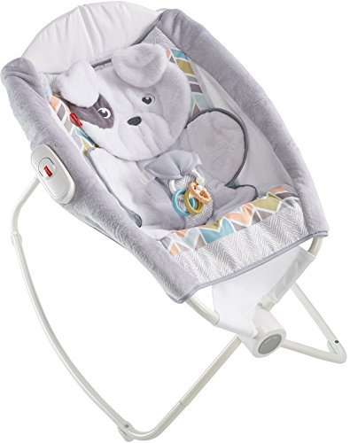 Fisher-Price Deluxe Rock 'n Play Sleeper, Sweet Snugapuppy Dreams