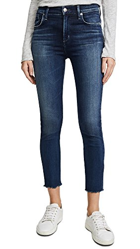 A GOLD E Women's Sophie High Rise Skinny Crop Jeans, Claremont, 28