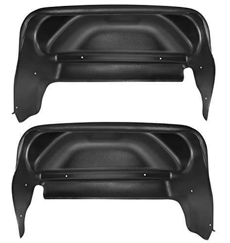 Husky Liners Rear Wheel Well Guards Fits 14-18 Sierra 1500(15-18 2500/3500)