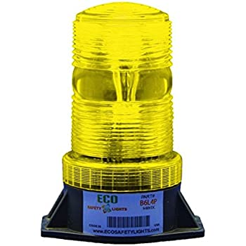 B6L4PT PINK 12-80V DC 3W LED 1//2 NPT PIPE MOUNT EMERGENCY WARNING LIGHT BEACON STROBE EFFECT 12V 24V 36V 48V 64V 72V