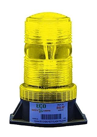 B6L4PT GREEN 12-80V DC 3W LED 1//2 NPT PIPE MOUNT EMERGENCY WARNING LIGHT BEACON STROBE EFFECT 12V 24V 36V 48V 64V 72V