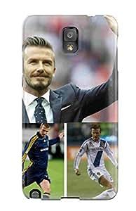 Galaxy Note 3 Case Cover Skin : Premium High Quality David Beckham Soccer Case